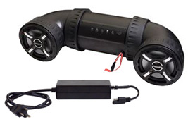 Bazooka ATV Tubes with home power supply