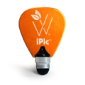 Woodees iPic Multi Purpose Pick Stylus - Orange