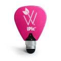 Woodees iPic Multi Purpose Pick Stylus - Pink