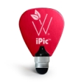 Woodees iPic Multi Purpose Pick Stylus - Red