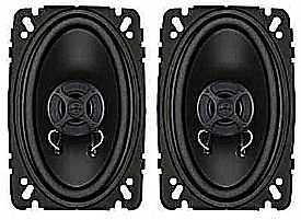 4 x 6 inch 2-way EL Series Coaxial Speaker