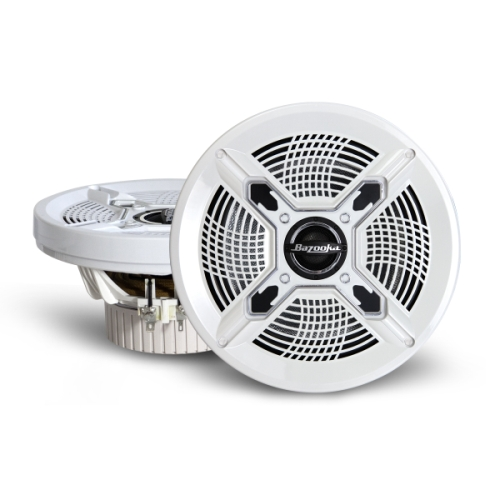 6.5 inch White Marine Coaxial Speaker
