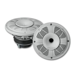 MAC6502CHW - 6.5 inch White Compression Horn Marine Coaxial Speaker